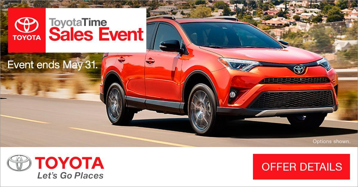 Time To Upgrade Your Ride? Toyota Has You Covered