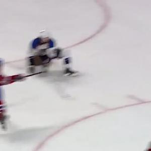 Michael Bournival scores on Jaroslav Halak
