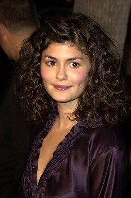 Audrey Tautou at the Beverly Hills premiere of Miramax Zoe's Amelie