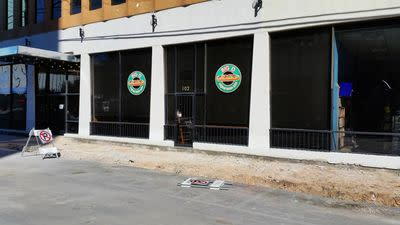 An Ace Background for Downtown's New 316 Cafe
