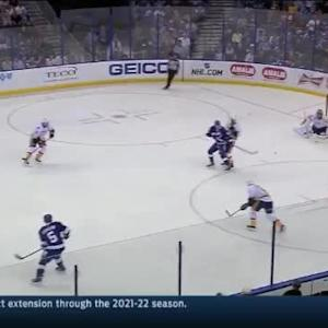 Pekka Rinne Save on Jason Garrison (06:39/1st)