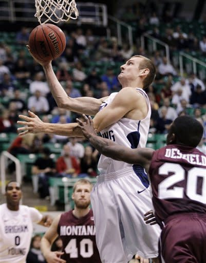 Davies scores 21 points; BYU defeats Montana 85-60