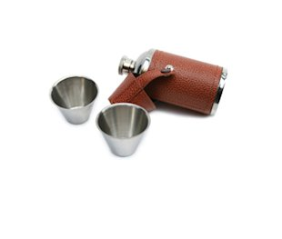 English hunting flask