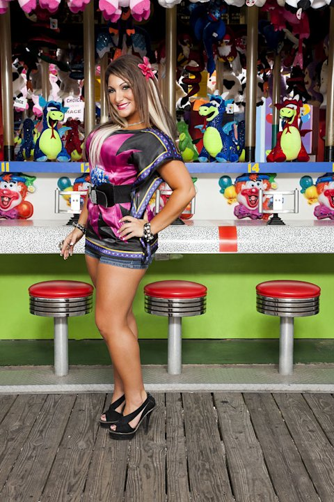 "Deena Nicole Cortese back in Seaside, NJ for Season 5 of ""Jersey Shore."""