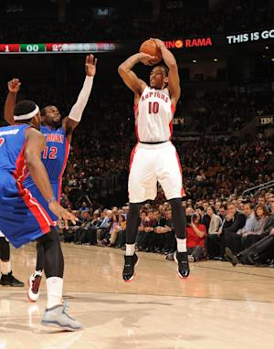 DeRozan scores 25 as Raptors beat Pistons 101-87
