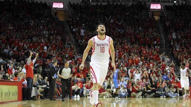 NBA: Playoffs-Oklahoma City Thunder at Houston Rockets