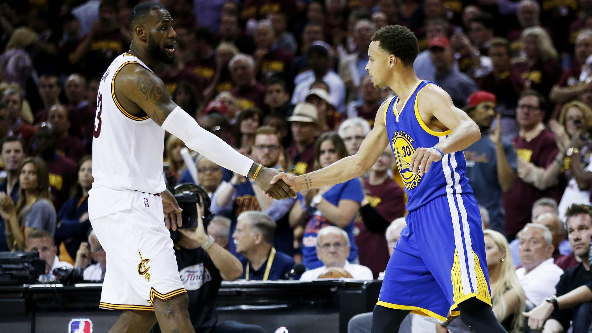 Warriors are 'most healthy team I've ever seen in NBA history' - James