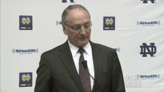 Notre Dame athletic director:&nbsp;&hellip;