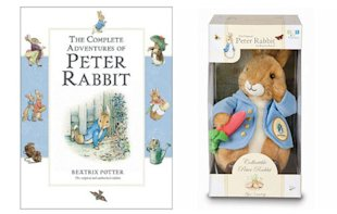 Peter Rabbit Books and Plush