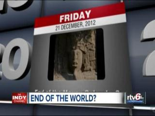 Hoosiers making plans for Mayan calendar's end of world