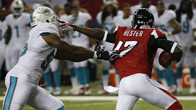 Ryan sharp on TD drive, Falcons top Miami 16-10