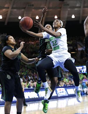 Notre Dame beats Baylor 88-69 to get to Final Four