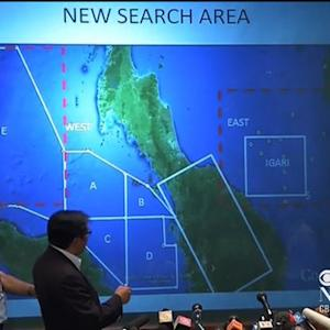 Search continues for Malaysian jet