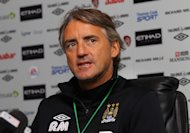 Roberto Mancini's side face a very difficult group in the Champions League