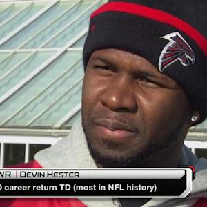 Atlanta Falcons wide receiver Devin Hester: 'We just got to go out and attack'