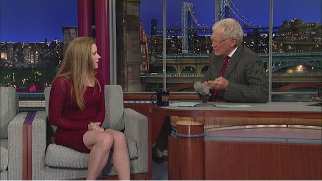 David Letterman - Amy Adams …