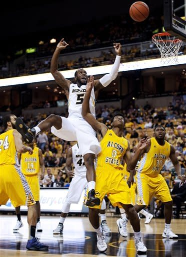 Pressey, Bowers lead No. 14 Missouri over Alcorn