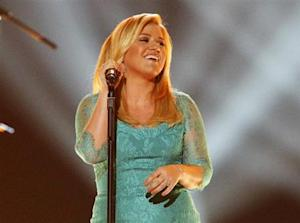 "Kelly Clarkson performs ""Don't Rush"" during the 48th ACM Awards in Las Vegas"