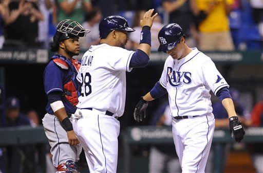 Cobb and Johnson key Rays' win