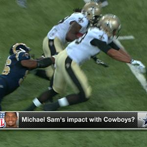 Can defensive end Michael Sam make a dent in Dallas?