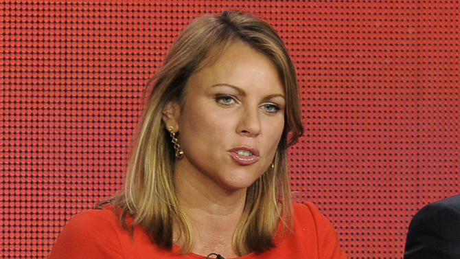 "In this Jan. 12, 2013 file photo, ""60 Minutes"" reporter Lara Logan takes part in a panel discussion at the Showtime Winter TCA Tour in Pasadena, Calif. CBS has ordered ""60 Minutes"" correspondent Lara Logan and her producer to take a leave of absence following a critical internal review of their handling in the show's October story on the Benghazi raid. The show relied on an interview with a security contractor who said he was at the U.S. mission in Benghazi, Libya the night it was attacked last year, but questions were raised about whether the source was lying. (Photo by Chris Pizzello/Invision/AP, File)"