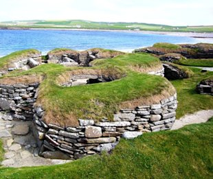 (Photo: Yellow Book Ltd) Skara Brae, Orkney Islands