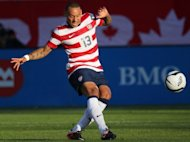USA midfielder Jermaine Jones, seen here in June 2012, has said he plans to finish his career at Champions League side Schalke 04 with his contract set to expire in 2014