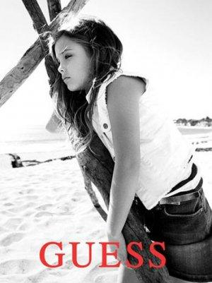 Anna Nicole Smith's daughter, Dannielynn Birkhead, Models For Guess Jeans (Poll)