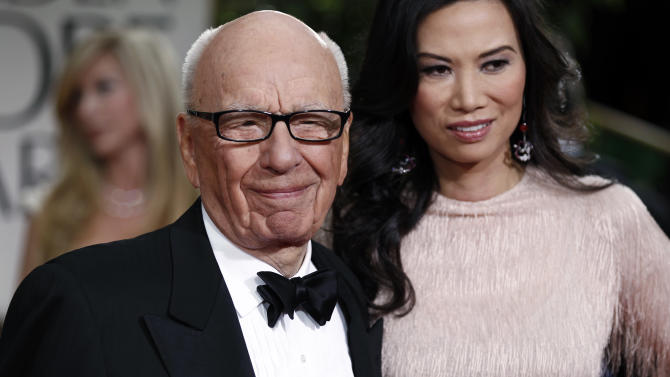 Rupert Murdoch files for divorce from Wendi Deng