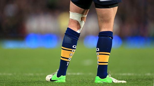The shorts and socks of a Leeds Rhinos player (PA Photos)