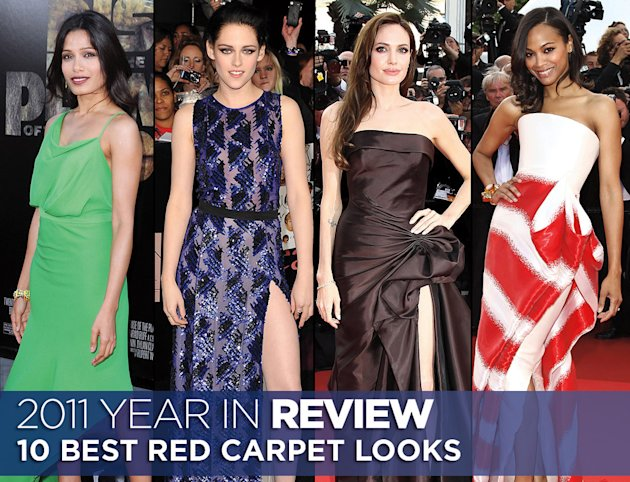 Year in review 2011 best red carpet title card