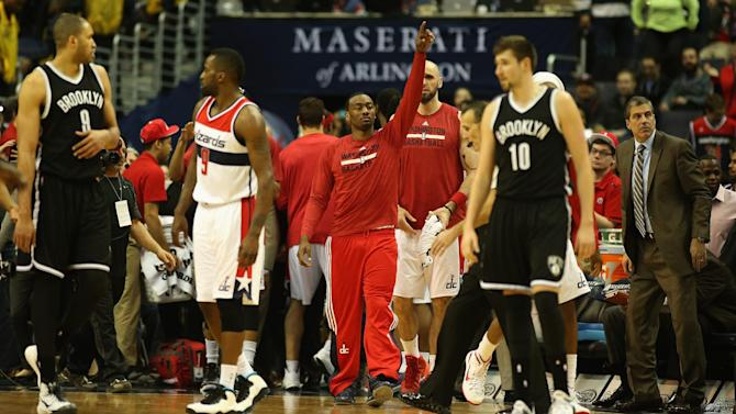 Wall, Butler lead Wizards to 114-77 win over Nets