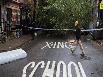 AP Photos: Capturing Sandy's wrath