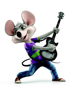 "This undated handout image provided by CEC Entertainment Inc. shows an image from the company's new Chuck E. Cheese, national ad campaign. The company that operates the chain of children's pizza restaurants is retiring the giant rodent's outdated image and the man who voiced its character for nearly two decades. According to ShowBizPizza.com, a Chuck E. Cheese fan site, the man who voiced the mascot in commercials since 1993 learned of his replacement only after coming across ""Chuck's Hot New Single"" online and realizing it was sung by someone else. (AP Photo/CEC Entertainment Inc)"