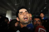 Pakistan's Misbah-ul-Haq, shown here in Lahore on March 24, has been dropped from the Twenty20 squad and all-rounder Mohammad Hafeez made the new skipper. The decision was widely expected after Misbah led Pakistan to a 2-1 defeat in the three-match Twenty20 series against England in February