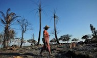 Burma: Satellite Images Show 'Destruction'