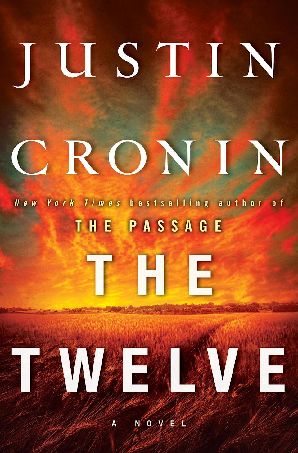 "This book cover image released by Ballantine shows ""The Twelve,"" by Justin Cronin.  Cronin follows his best-selling ""The Passage"" with ""The Twelve,"" the second of a planned trilogy, on Oct. 16, 2012. (AP Photo/Ballantine)"