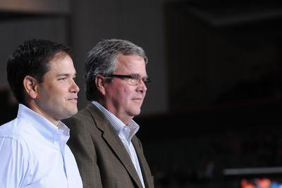 Neither Bush nor Rubio is placing above 4th in Iowa or New Hampshire