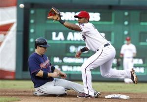 Twins hand Rangers 5th straight loss, 5-1