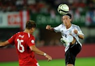 Germany's Mesut Ozil (R) during their 2014 World Cup qualifying match on September 11. With Ozil and Ronaldo both misfiring, much rests on the shoulders of playmaker Xabi Alonso and French frontman Karim Benzema