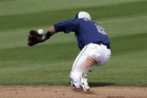 Masterson Ks 7, Indians lose 6-4 to Padres