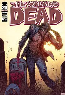 The Walking Dead comic book's 100th issue | Photo Credits: Image Comics