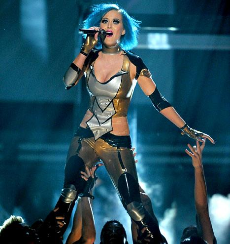 Katy Perry Bashes Russell Brand in New Revenge Song at Grammys