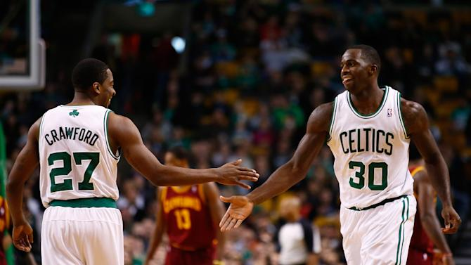 Bass' block saves Celtics in 103-100 win over Cavs