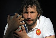 Former France captain Lionel Nallet, seen here in March 2012, is to join Sebastien Chabal at recently-relegated Lyon for next season