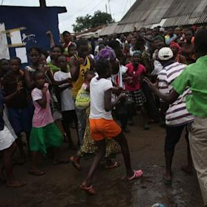 Mob raids Ebola treatment center in Liberia