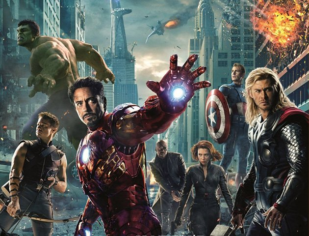 Marvel's The Avengers Blu-ray Giveaway
