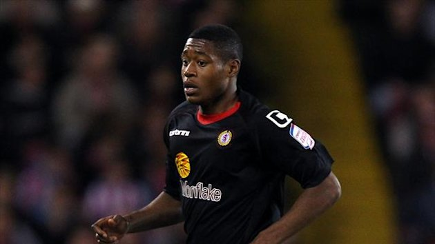 Crewe are hoping to extend Chuks Aneke's loan deal