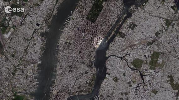 Zoom In on NYC in United Nations' 'My Planet from Space' (Video)