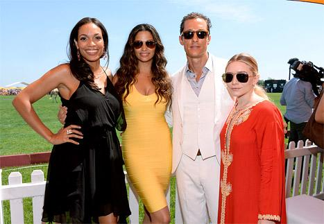 The Stars Step Out For The Veuve Clicquot Polo Classic